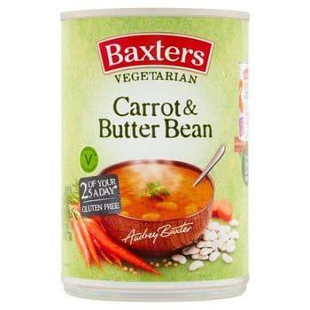 Baxters Vegetarian Carrot & Butter Bean Soup 400G