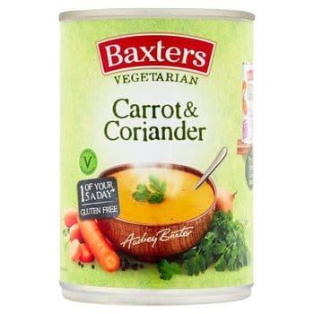 Baxters Vegetarian Carrot & Coriander Soup 400G