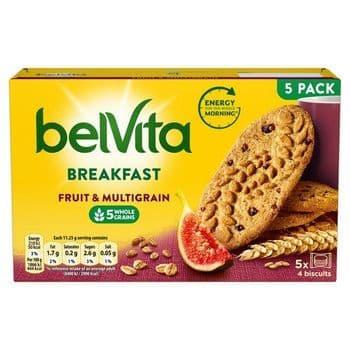 Belvita Fruit & Multigrain Biscuits 225G