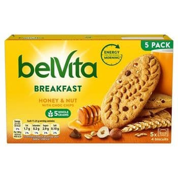 Belvita Honey & Nut Biscuits 225G