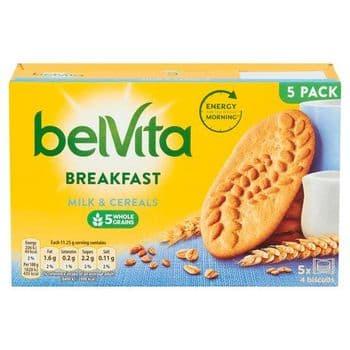 Belvita Milk & Cereal Biscuits 225G