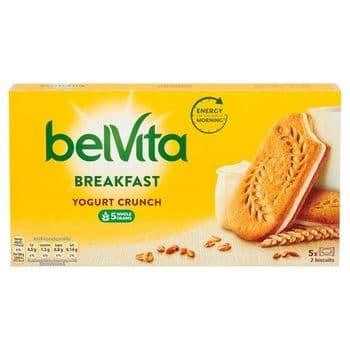 Belvita Sandwich Plain Yogurt Crunch 253G