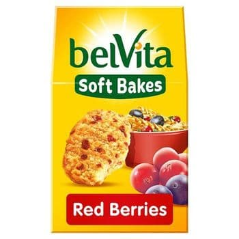 Belvita Soft Bakes Red Berries 250G
