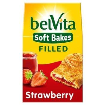 Belvita Soft Filled Strawberry Biscuits 250G