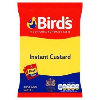 Birds Instant Custard Original 3X75g 225G