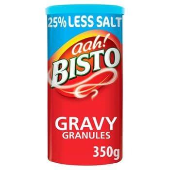 Bisto Traditional Reduced Salt Gravy Granules 350G