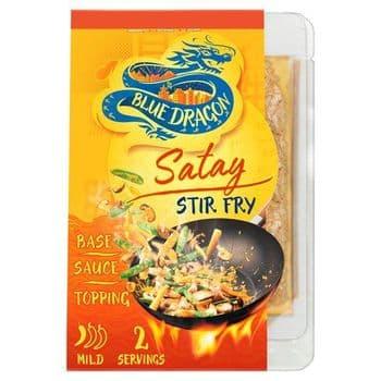 Blue Dragon Nutty Satay Wok Creations 120G
