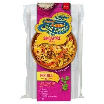 Blue Dragon Singapore Noodle Cooking Kit 165G