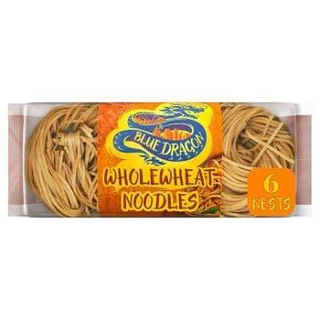 Blue Dragon Whole Wheat Noodles 300G