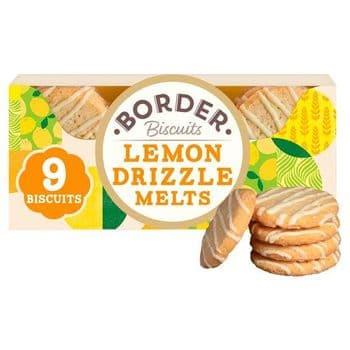 Border Biscuits Lemon Drizzle Melts 150G
