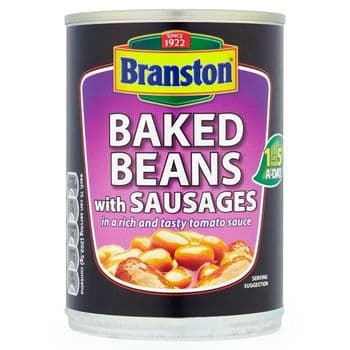 Branston Baked Beans & Sausages 405G
