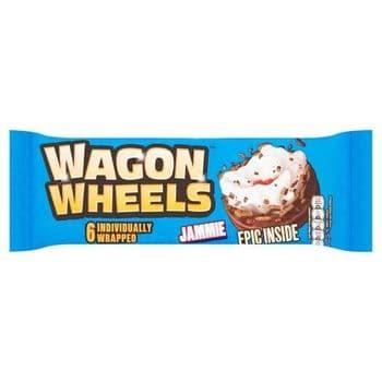 Burtons Wagon Wheels Jammies 6 Pack 229G