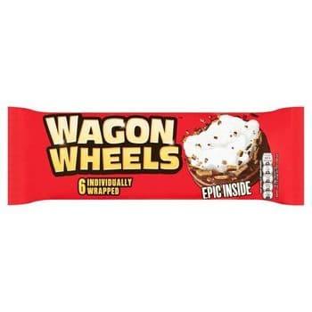 Burtons Wagon Wheels Original Biscuit 6 Pack