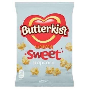 Butterkist Cinema Sweet Popcorn 100G