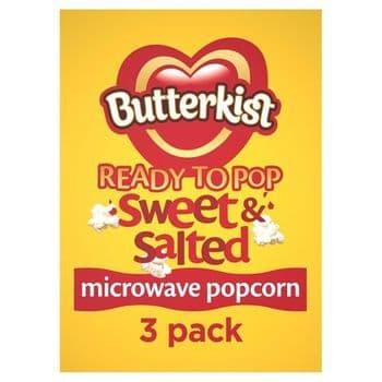 Butterkist Microwave Popcorn Sweet & Salted 180G