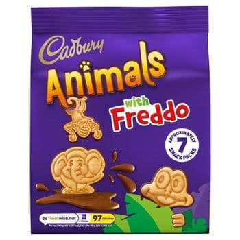 Cadbury Animals With Freddo 7 Pack 139.3G