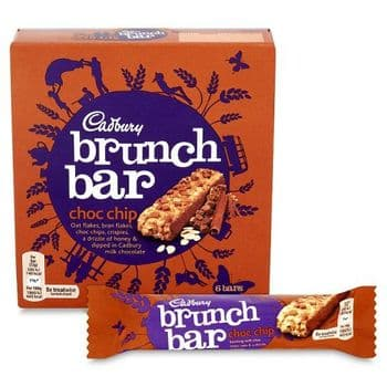 Cadbury Brunch Chocolate Chip 6 X 32G