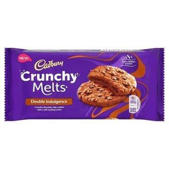 Cadbury Crunchy Melts Double Indulgence 156G