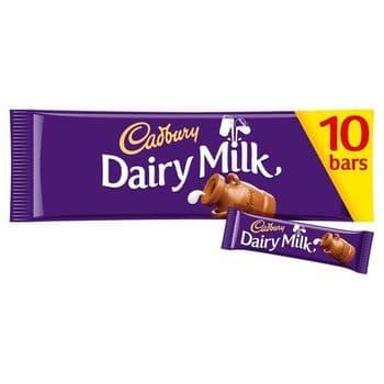 Cadbury Dairy Milk 10 Pack 293G