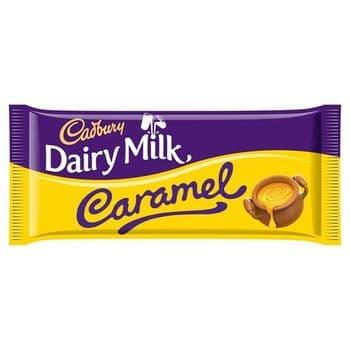 Cadbury Dairy Milk Caramel Chocolate Bar 120G