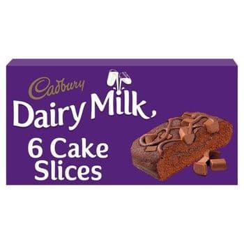 Cadbury Dairy Milk Chocolate Slice 6 Pack