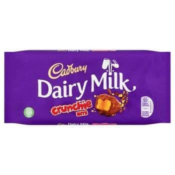 Cadbury Dairy Milk Crunchie Bit Chocolate Bar 200G