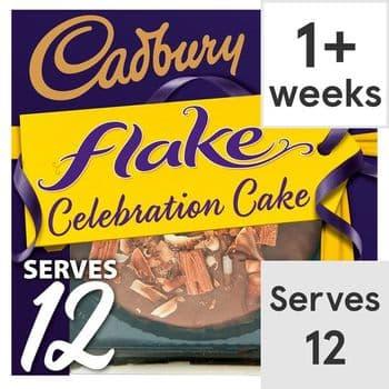 Cadbury Flake Cake Each