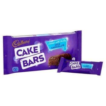 Cadbury Milk Chocolate Cake Bars 5 Pack