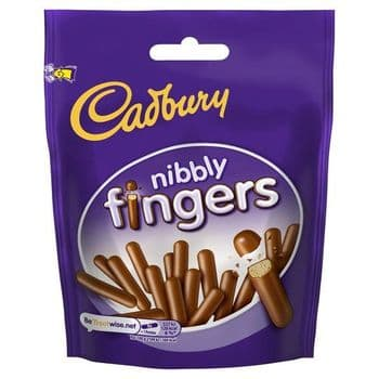 Cadbury Nibbly Fingers Biscuits 125G