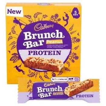 Cadbury Peanut Protein Brunch Bar 160G