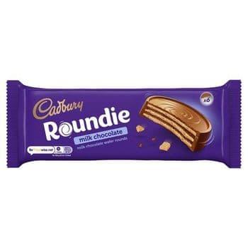 Cadbury Roundie Milk Chocolate Biscuit 180G