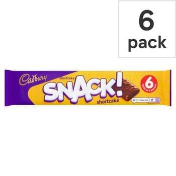 Cadbury Snack Cake 6 Pack 120G