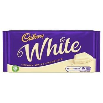 Cadbury White Chocolate 180G