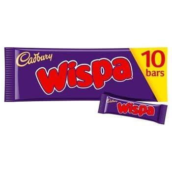Cadbury Wispa 10 Pack 255G