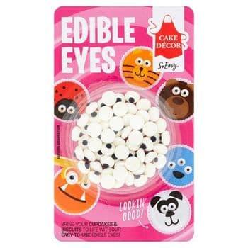 Cake Decor Eyes Edible Eyes 25G