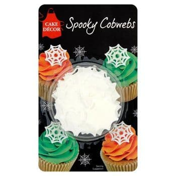 Cake Decor Spooky Cobwebs 4G