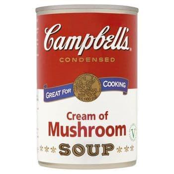 Campbells Condensed Cream Of Mushroom Soup 294G