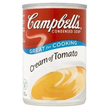 Campbells Cream Of Tomato Condensed Soup 294G