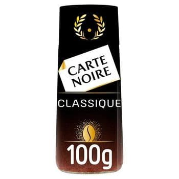 Carte Noir Instant Classique 100G