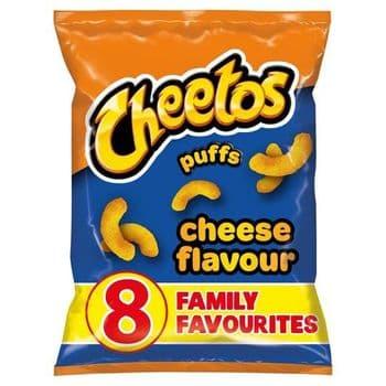 Cheetos Cheese Puffs 8X13g