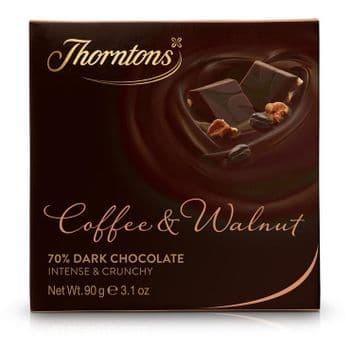 Coffee and Walnut Chocolate Block (90g)