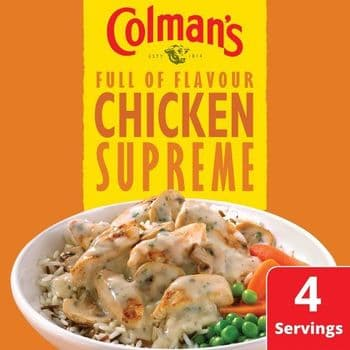 Colman's Chicken Supreme Recipe Mix 38G