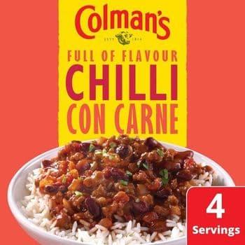 Colman's Chilli Con Carne Recipe Mix 50G