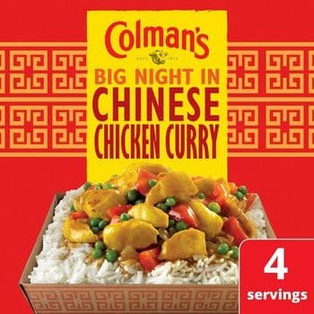 Colman's Chinese Chicken Curry Recipe Mix 47G