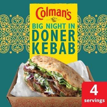 Colman's Doner Kebab Seasoning Mix 38G