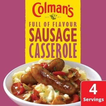 Colman's Sausage Casserole Recipe Mix 39G