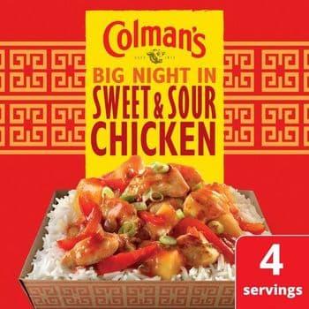 Colman's Sweet & Sour Chicken Recipe Mix 58G