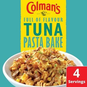 Colman's Tuna Pasta Bake Recipe Mix 44G