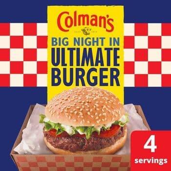 Colman's Ultimate Burger Seasoning Mix 56G
