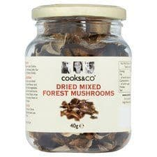 Cooks And Co Dried Mixed Forest Mushrooms 40G